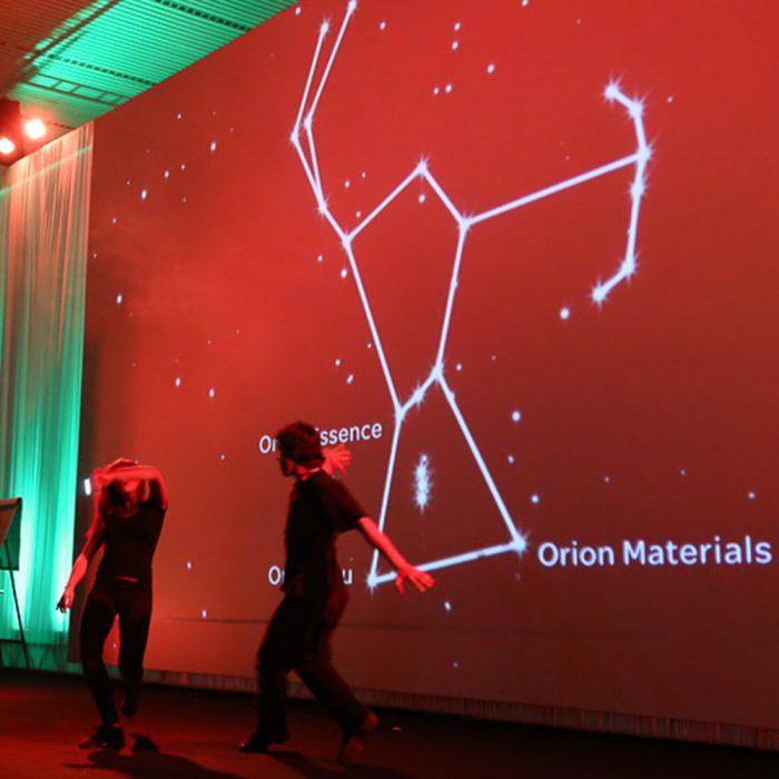 Evento de lançamento Orion