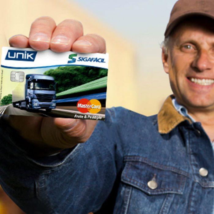 Criação de Logotipo e Cartão Frete Mastercard