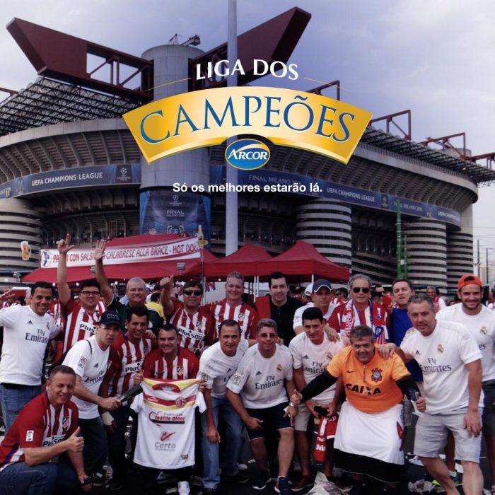 Viagem de incentivo para Champions League