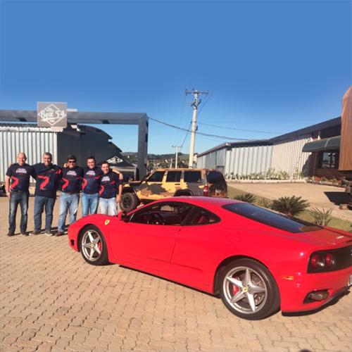 Premiação de incentivo – Ferrari Drive Experience